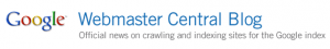 Google Webmaster Central Blog Logo