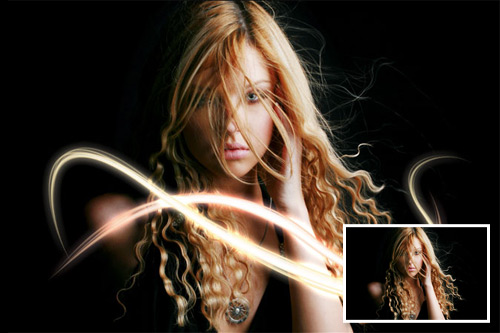 lights 32 effect photoshop yang mengagumkan