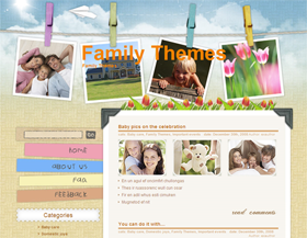 Children And Toys Wordpress Theme