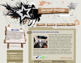 Wood Carving Wordpress Theme